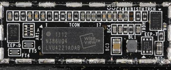 Wise-View controller from a recently-purchased iPad 2. Image provided by Chipworks.