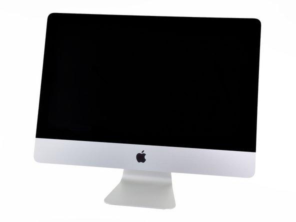 """Заглянем внутрь iMac Intel 21.5"""" EMC 2428"""