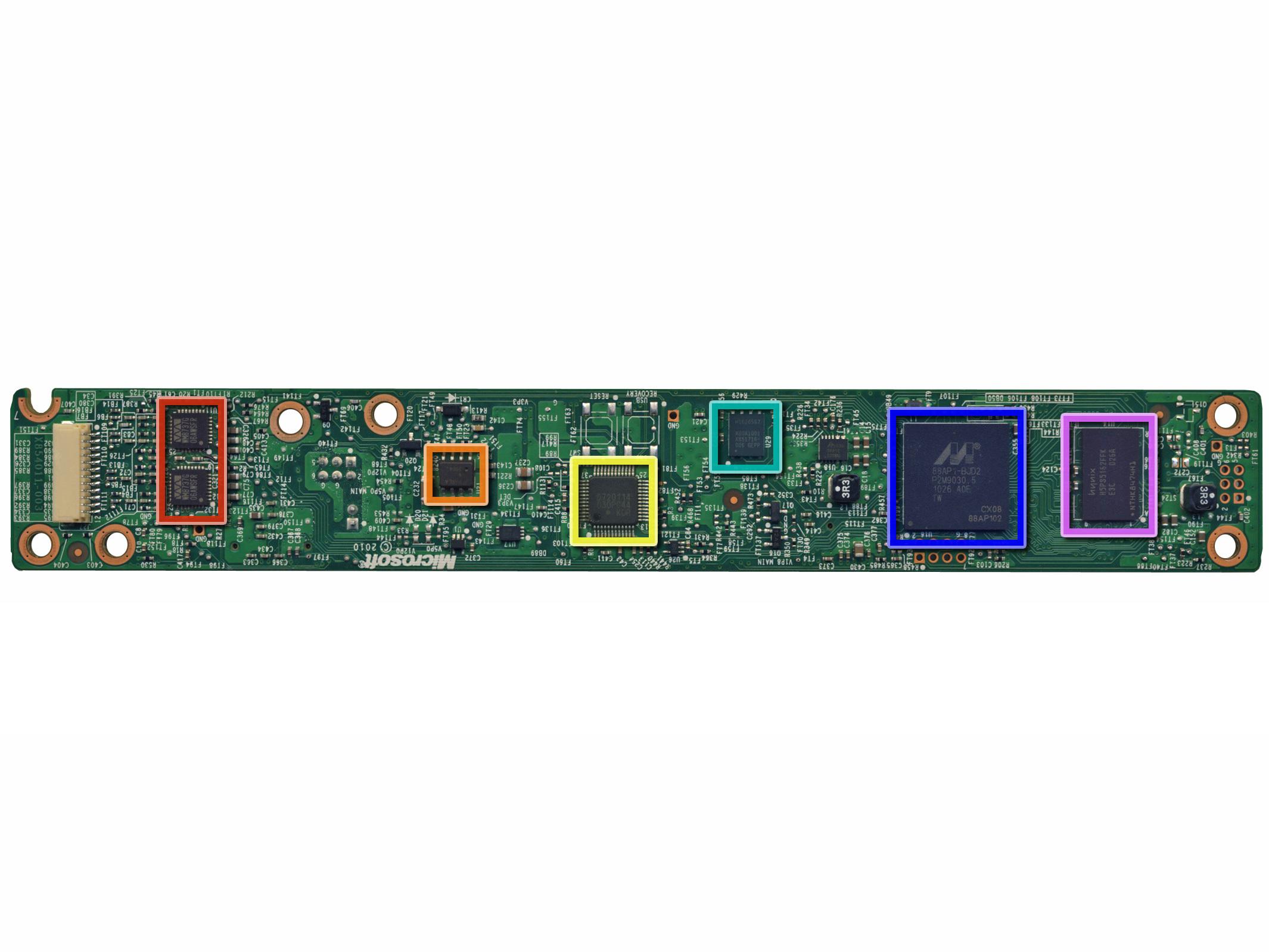 Xbox 360 Kinect Teardown iFixit – Kinect Sensor Wiring Diagram