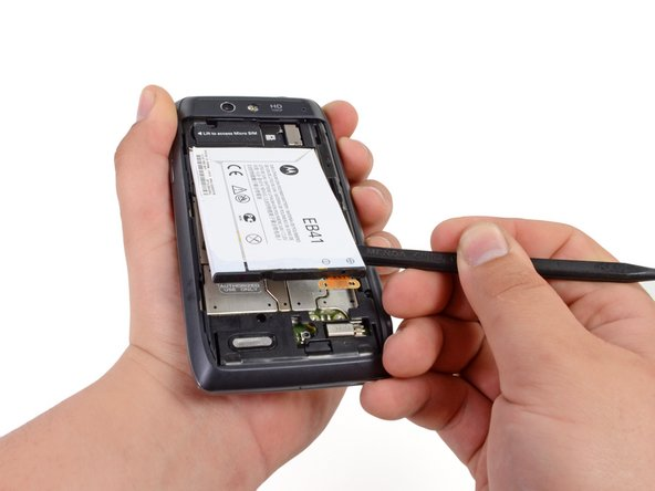 Removing the non-removable battery