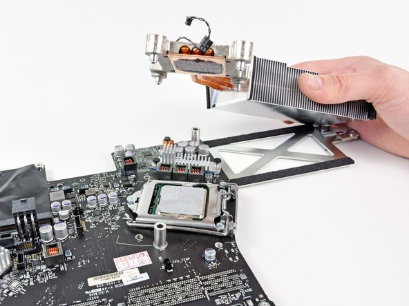 Taking off the CPU heat sink