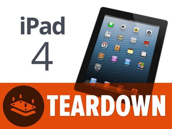 iFixit rozebírá iPad 4. generace